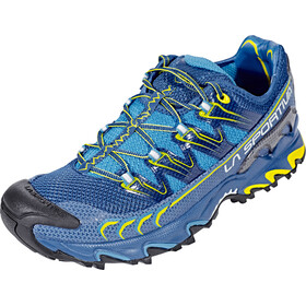 La Sportiva M's Ultra Raptor Shoes Blue/Sulphur